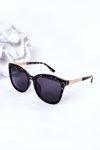 Women's Polarized Sunglasses Marbled Black