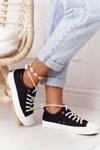 Women's Sneakers BIG STAR FF274184 Black